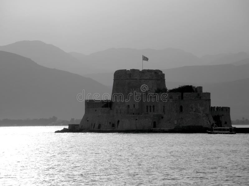 Greek fort stock photography