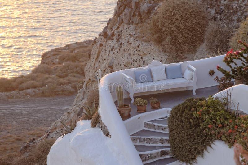 Download Greek Home On Coastline Stock Images - Image: 34482674