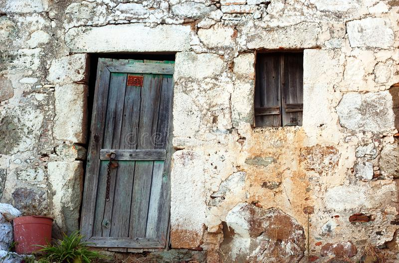 Download Greek House stock image. Image of frame, greece, facade - 16977415