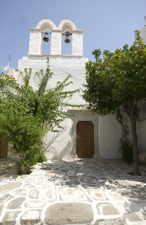 Download Greek Island Scene Old Church Stock Image - Image: 3079509