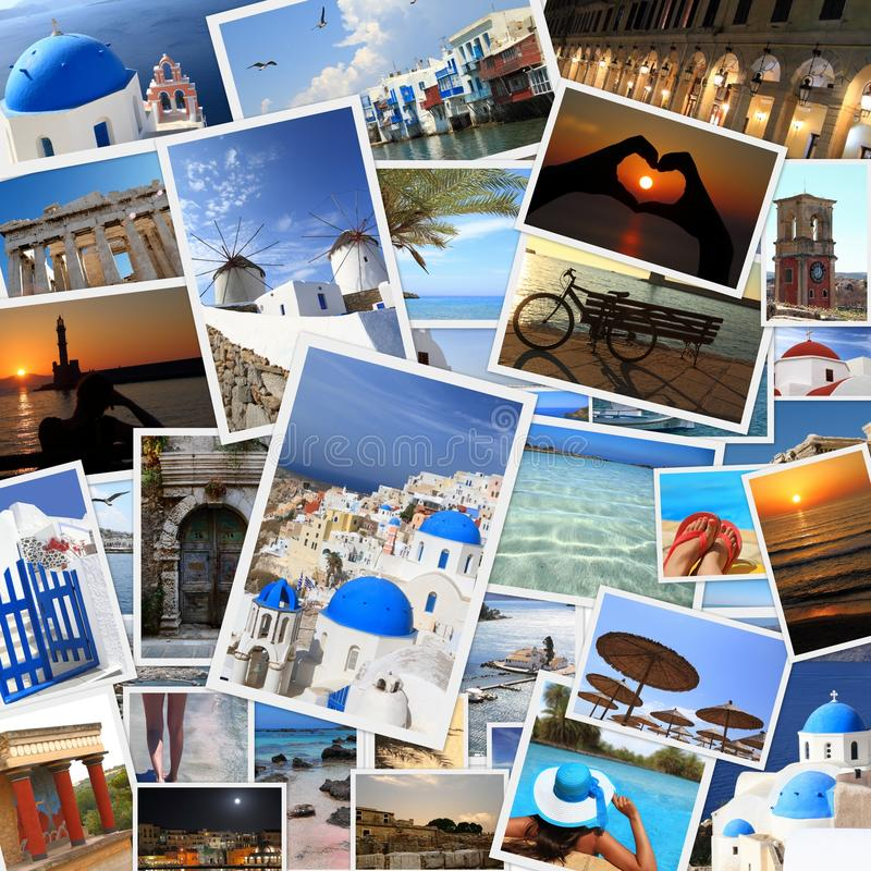 Greek islands photos royalty free stock photo