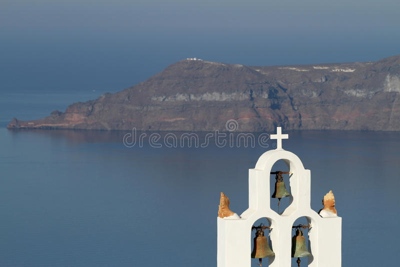 Greek Islands Series - Santorini stock photography