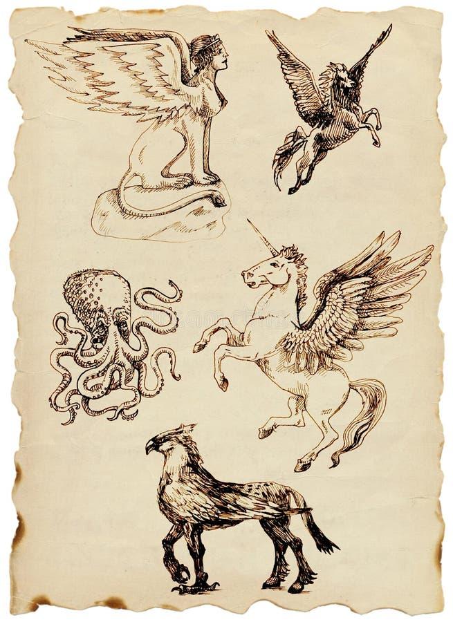 Download Greek myths stock illustration. Illustration of danger - 23820562