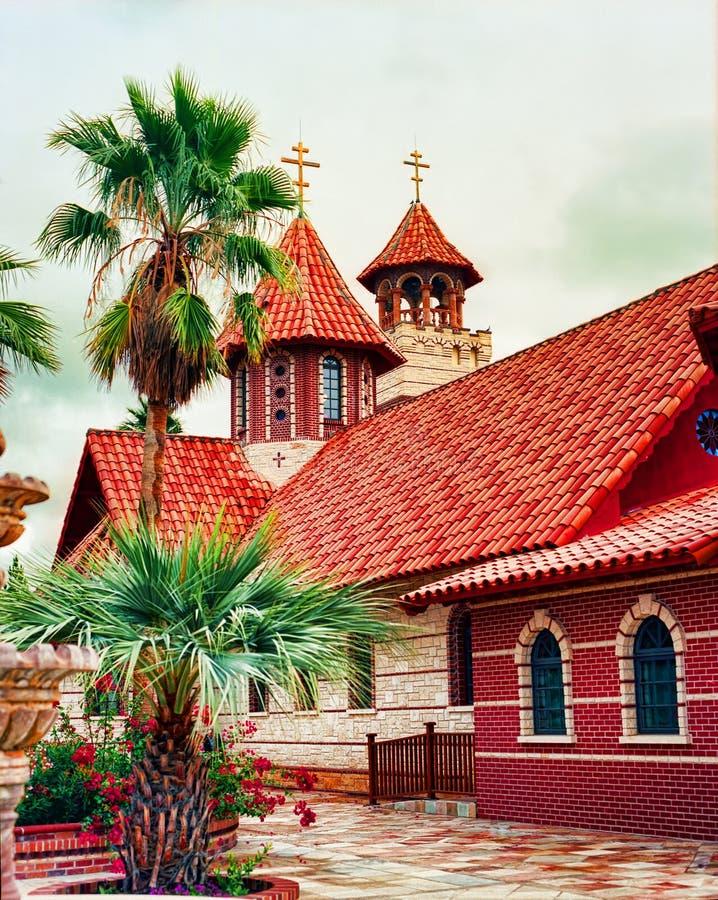 Greek Orthodox Chapel Stock Photos