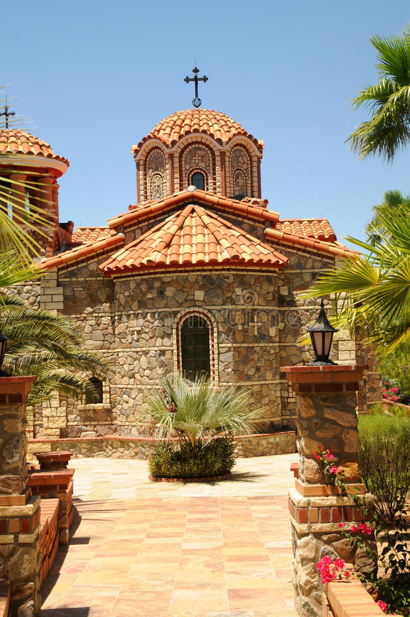 Download Greek Orthodox Church stock photo. Image of holiday, cyclades - 14928308