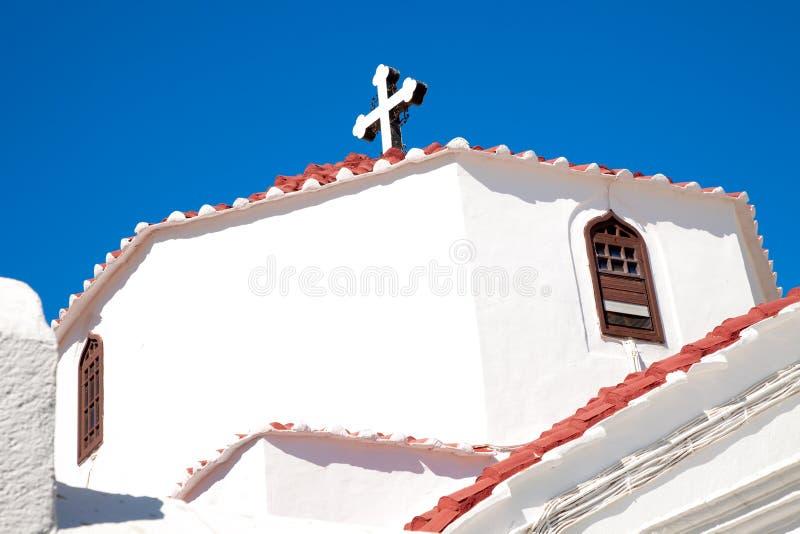 Download Greek orthodox church stock image. Image of whitewashed - 20801261