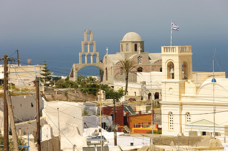 Greek Orthodox Church Of Fira Royalty Free Stock Images
