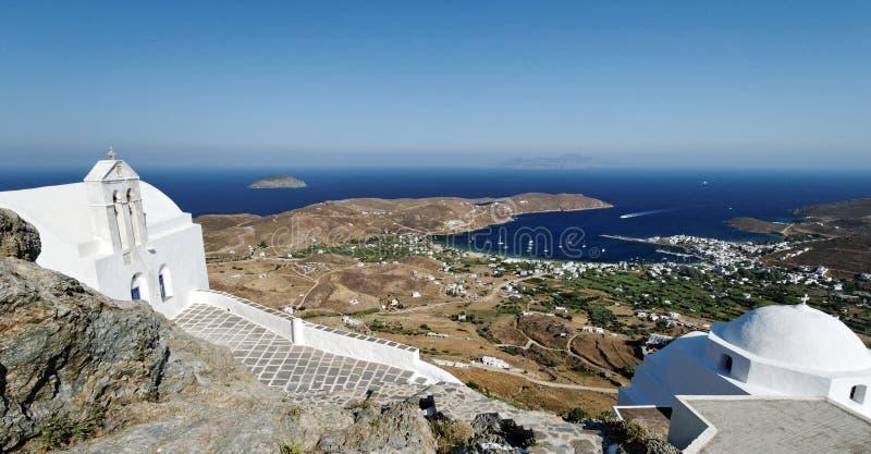 Download Greek orthodox churches stock photo. Image of hillside - 22603126