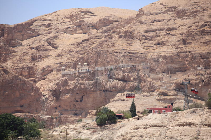 Greek Orthodox Monastery of the Temptation stock images