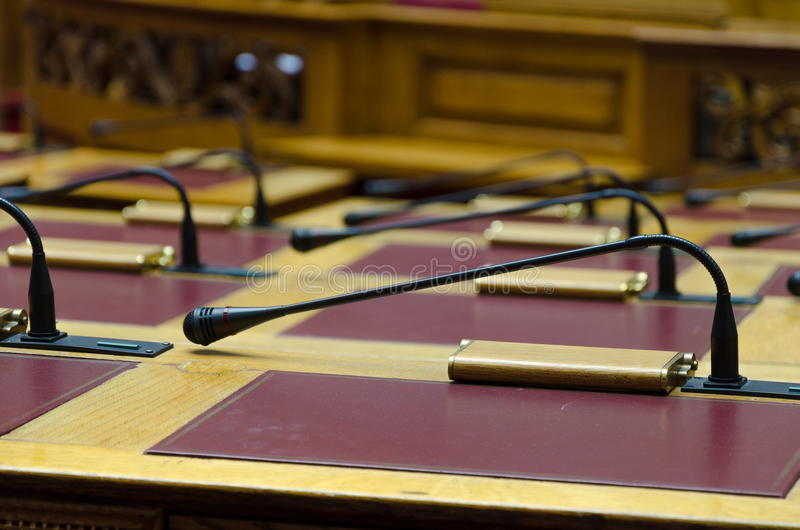 The Greek Parliament royalty free stock photo