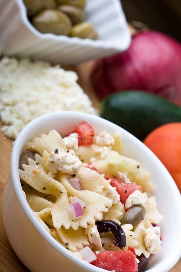 Greek Pasta Royalty Free Stock Images