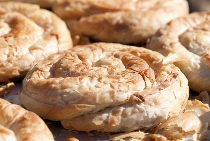 Greek Pastry stock photo