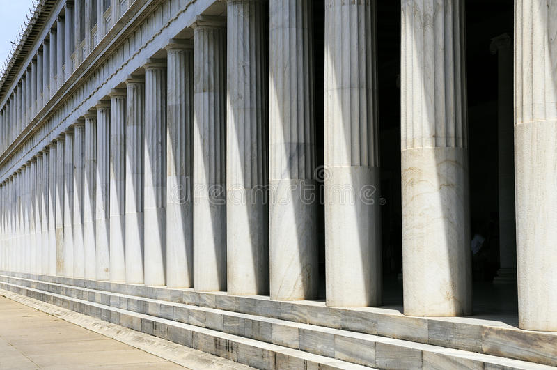 Download Greek Pillars, Athens stock image. Image of greek, balanced - 19782965