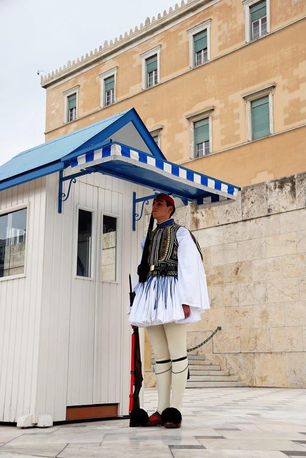 Greek Presidential Guard (Athens, Greece) Editorial Stock Image