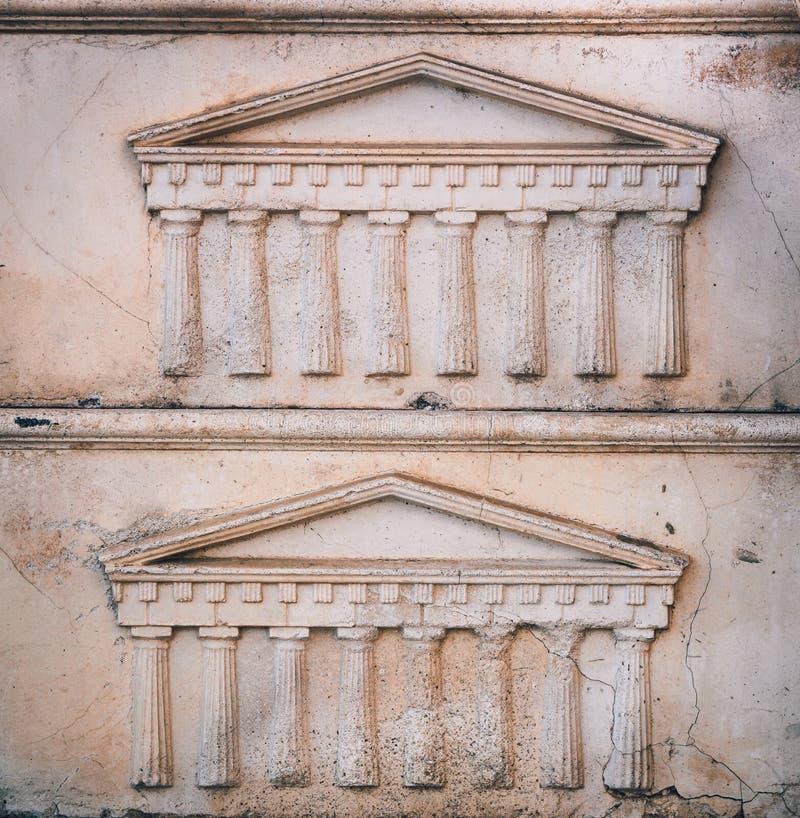 Greek or roman portico embossed in stone pattern or background download greek or roman portico embossed in stone pattern or background template stock image toneelgroepblik Gallery