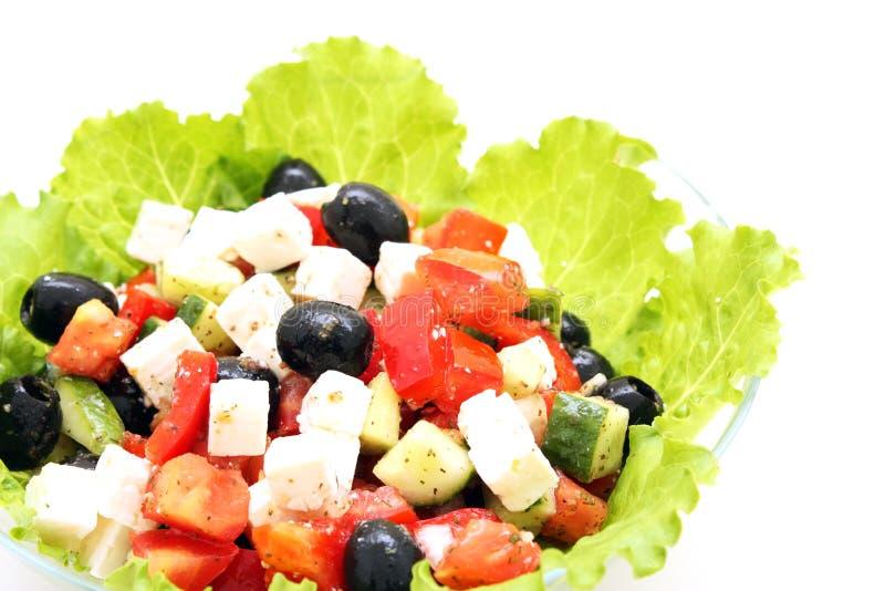 Download Greek salad stock photo. Image of dinner, endive, mediterranean - 11698102