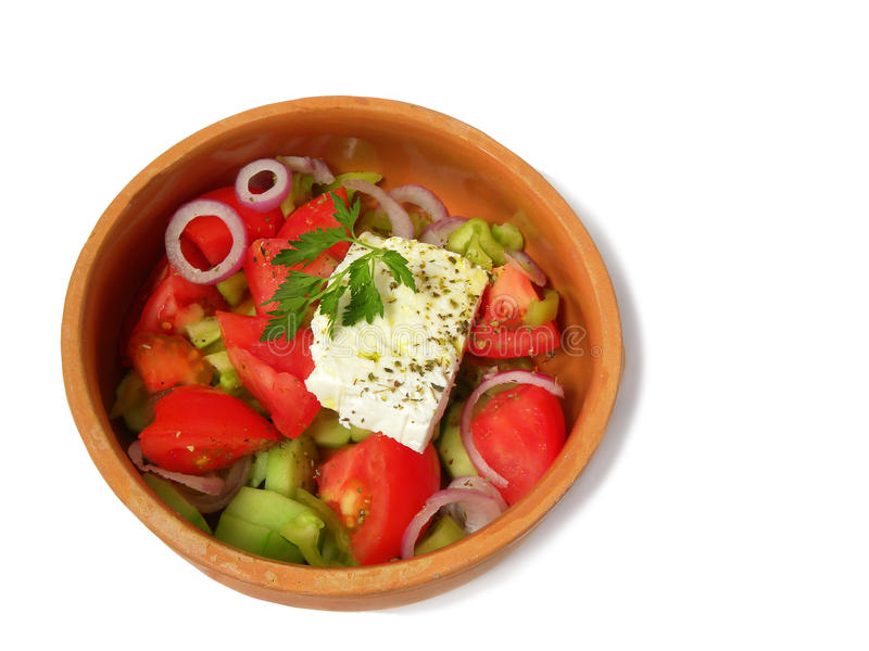 Download Greek Salad Stock Image - Image: 14269651