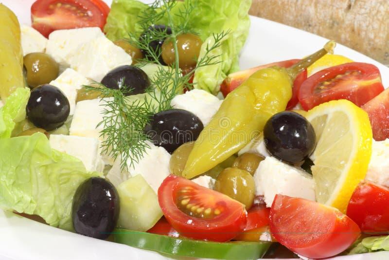 Download Greek salad stock image. Image of greece, healthy, cucumber - 14373825