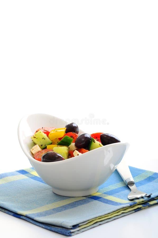 Download Greek Salad stock photo. Image of cucumbers, food, vegetables - 14414528