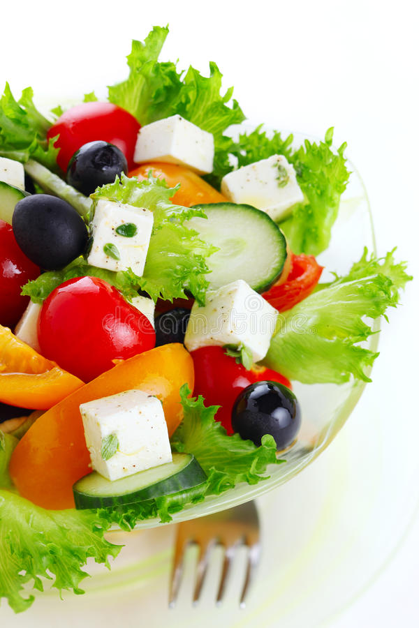 Free Greek Salad Stock Images - 18570624