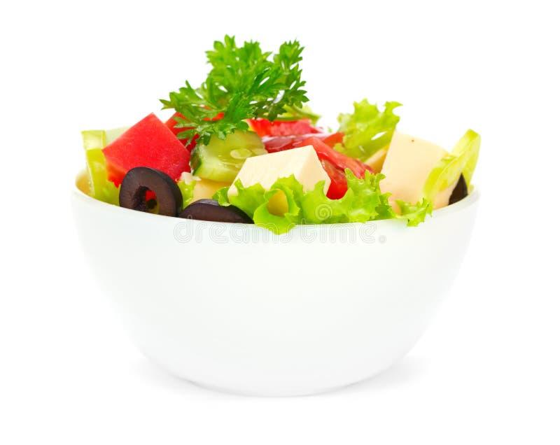 Download Greek Salad stock image. Image of tasty, leaf, dinner - 20265439