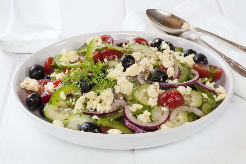Download Greek Salad stock photo. Image of tomato, greek, cucumber - 25551738