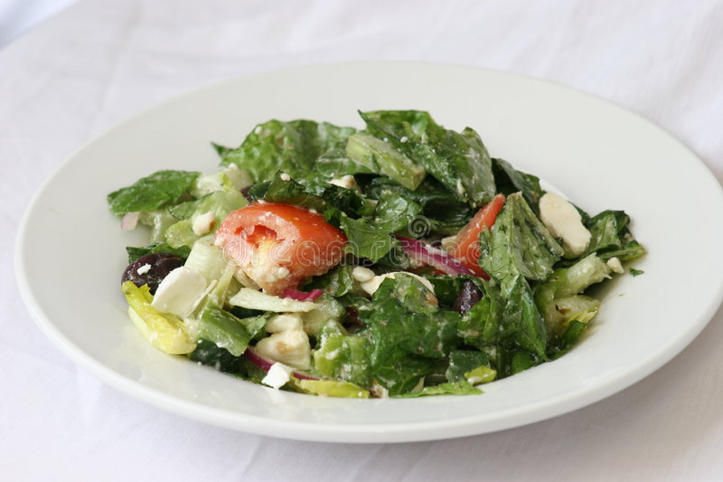 Download Greek Salad stock image. Image of onions, feta, appetizer - 615903