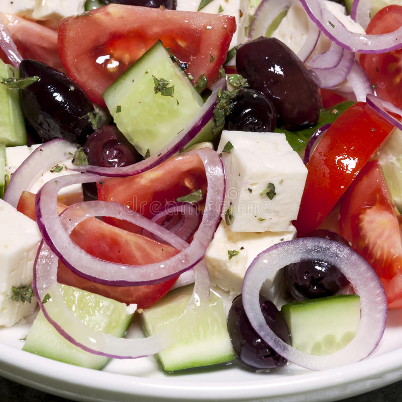 Download Greek Salad stock image. Image of healthy, tomato, cheese - 34407187