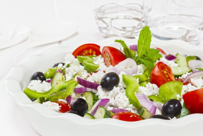 Download Greek Salad stock image. Image of tomatoes, greek, bowl - 33978539