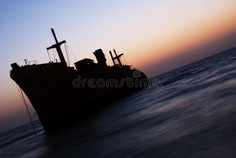 Download The Greek Ship In Kish Island Sunset Stock Photo - Image of trunk, sunset: 9979800