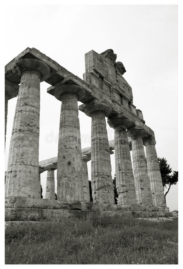 Greek temple royalty free stock photography