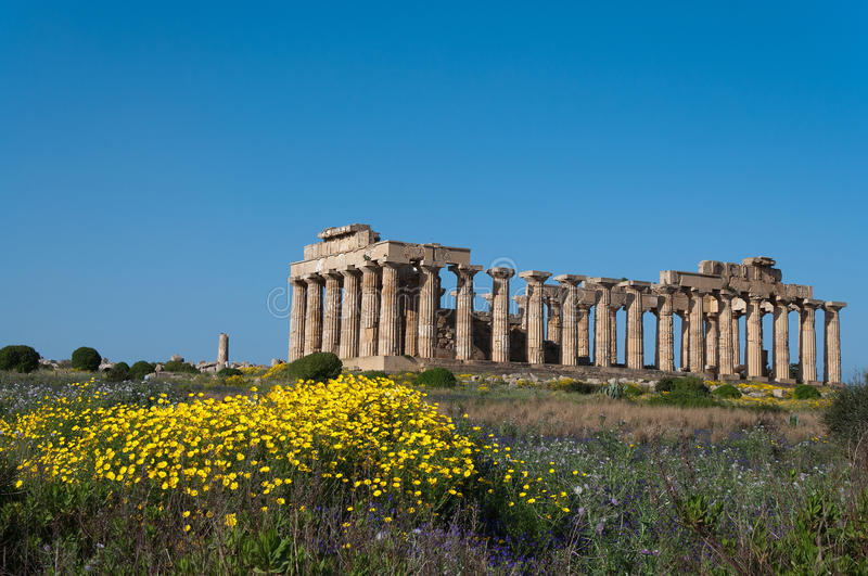 Download Greek temple stock photo. Image of archeology, doric - 24032908