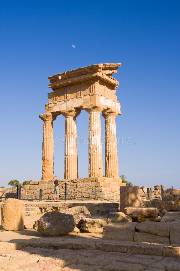 Download Greek temple stock image. Image of european, agrigento - 5649321