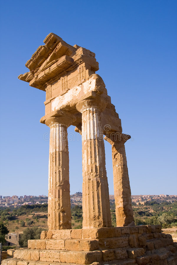 Download Greek temple stock image. Image of dream, majestic, italy - 6021029