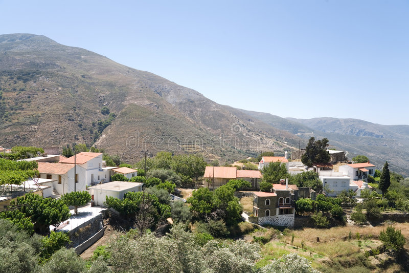 Download Greek village stock image. Image of village, town, greek - 2866109