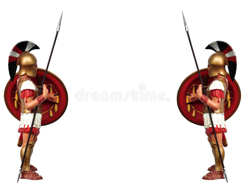 Download Greek warrior stock image. Image of armed, protection - 19739213