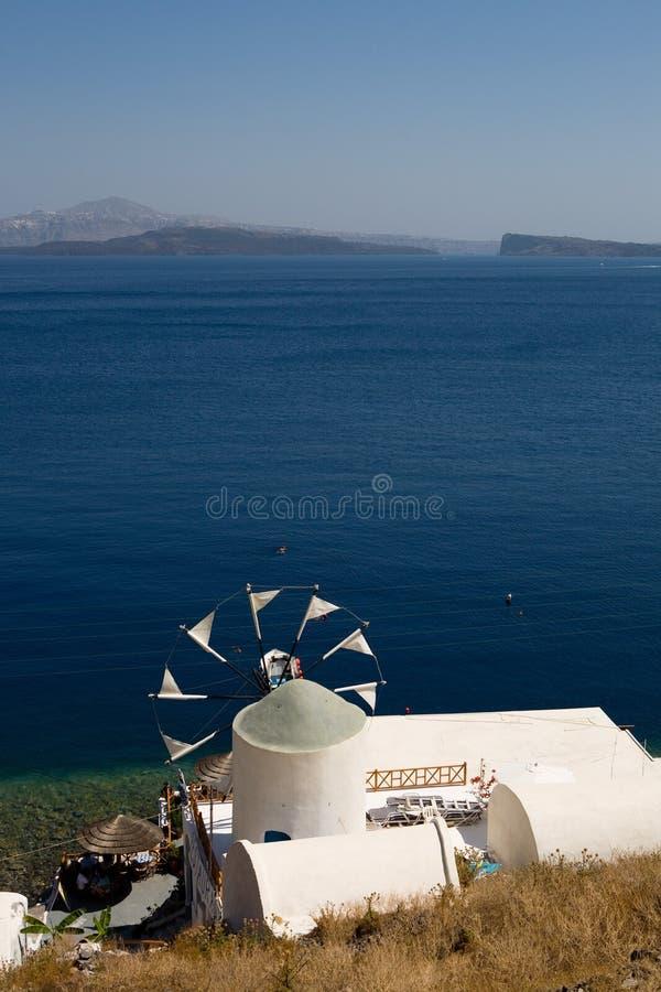Download Greek windmill stock photo. Image of wind, white, greek - 6965934