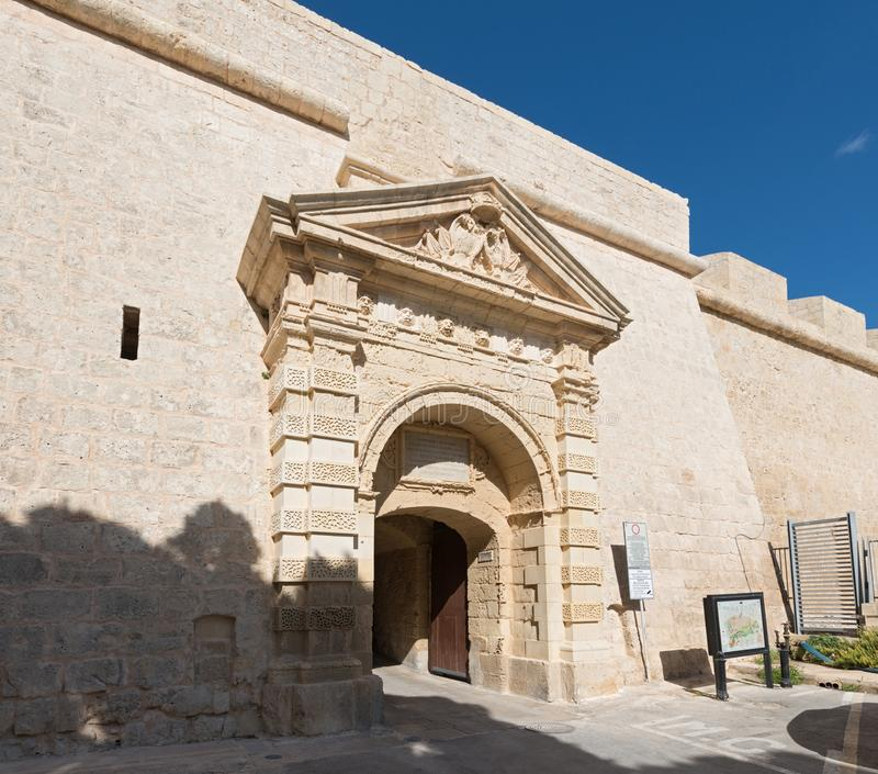 Greeks Gate of Mdina. Malta royalty free stock images