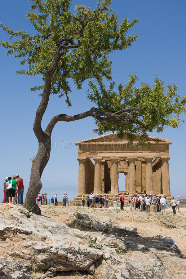 GreekTample, Agrigento fotografie stock