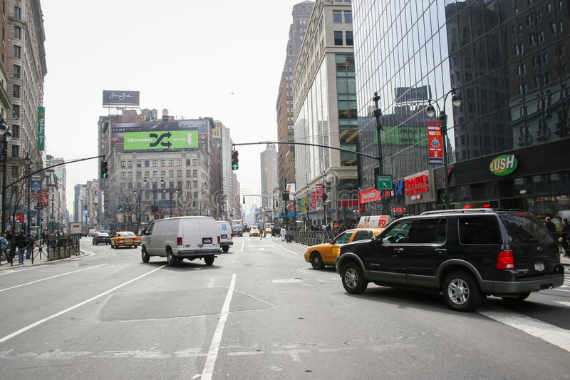 Greeley fyrkant i Manhattan arkivfoto