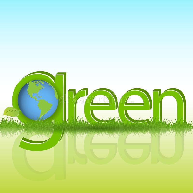 green royaltyfri illustrationer