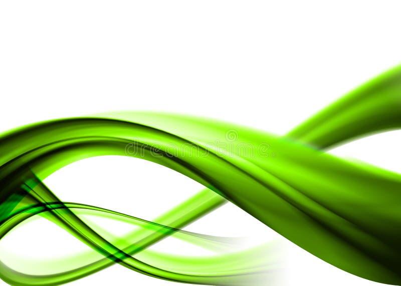 Green abstract vector illustration