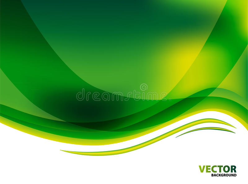Download Green abstract background stock illustration. Image of design - 26447775
