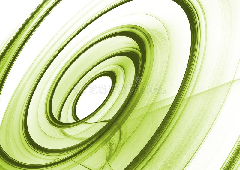 Green Abstract background vector illustration