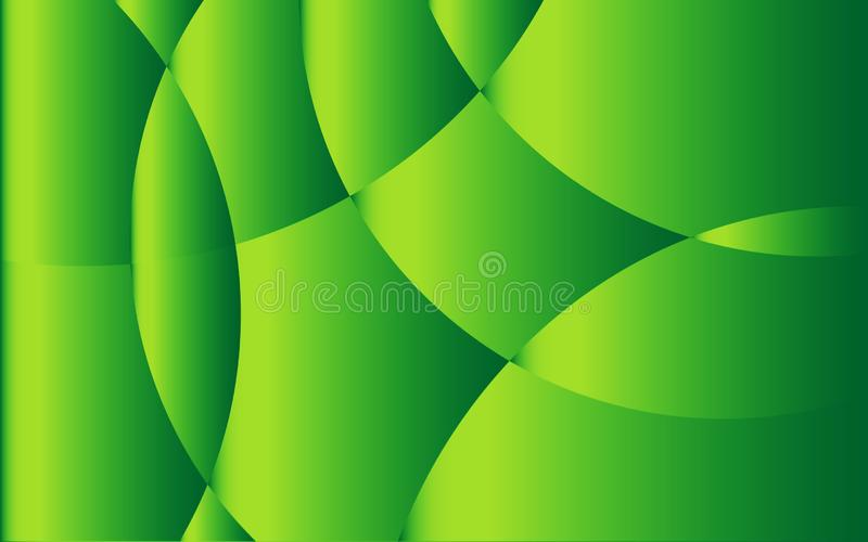 Green Abstract background template, cover design, banner, business flyer, organic texture, vector. Illustration stock illustration