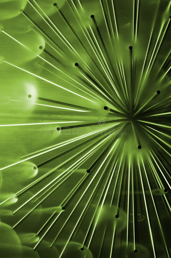 Green Abstract Feeling Stock Image