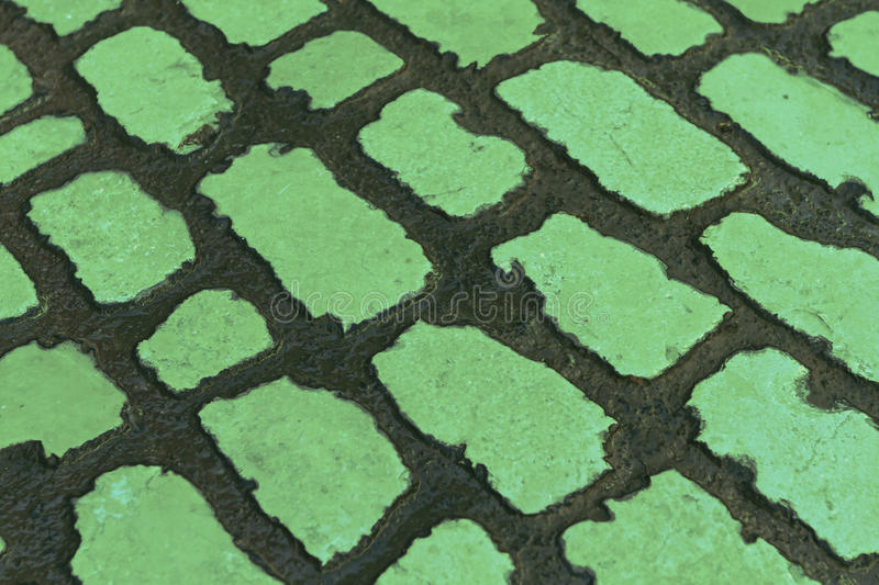 Green abstract fields stock photos