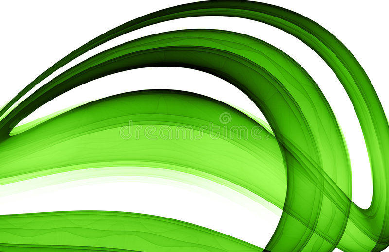Green abstract formation stock photos