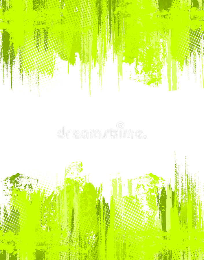 Free Green Abstract Grunge Background. Vector Template Stock Photography - 22021832