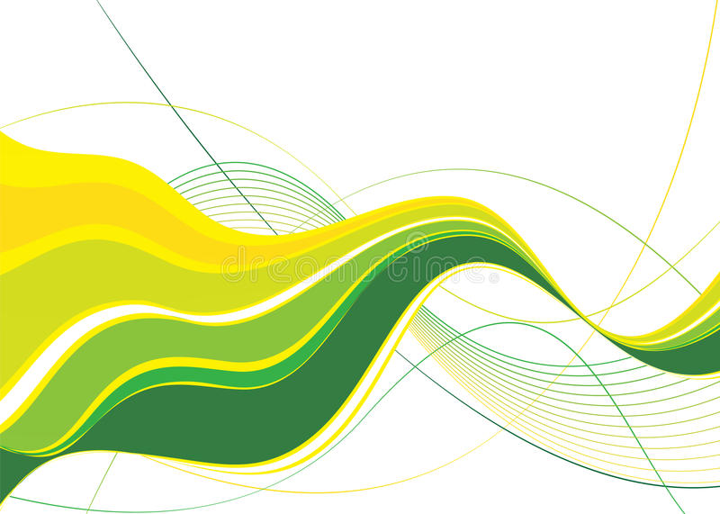 Download Green abstract vector stock vector. Image of curves, beautiful - 23394123
